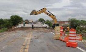 Obra em ponte que cedeu em Riachão do Jacuípe é concluída e via é liberada