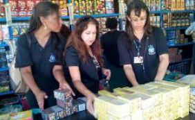 Codecon realiza fiscalização do comércio de fogos de artifício na Paralela