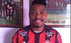 """Marinho se diz pronto para jogar no Vitória: """"Vim para fazer o meu melhor"""""""