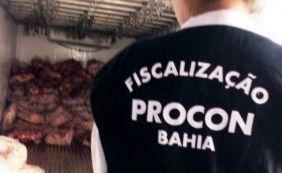 Procon apreende mais de 32 toneladas de carne podre em Salvador