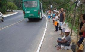 Após nova via em Cajazeiras, moradores pedem ponto de ônibus e segurança