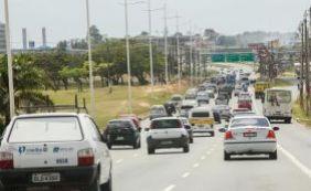 Acidente deixa fluxo lento na Avenida Luís Eduardo Magalhaes; confira trânsito