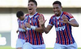 Confira os gols da virada do Bahia sobre a Juazeirense na estreia do Baianão