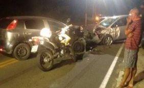 Após invadir contramão, motorista colide com veículo e mata mulher em Lauro