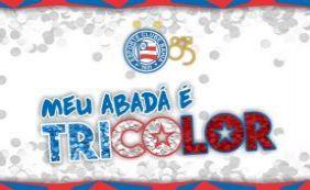 #MeuAbadáÉTricolor; Bahia lança campanha para o torcedor durante o Carnaval