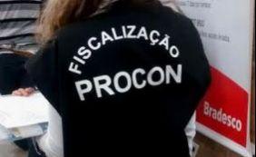 Bradesco é autuado pelo Procon por recusar demanda do consumidor