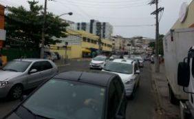 Trânsito é complicado por conta da festa de Iemanjá no Rio Vermelho