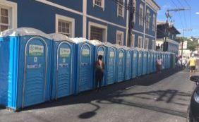 Limpurb diz que banheiros químicos devem preservar casarões no Rio Vemelho