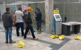 Quadrilha explode cofre de banco na cidade de Seabra