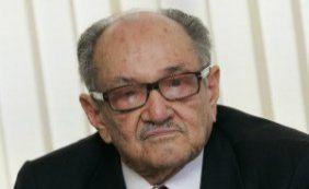 Presidente de honra do PMDB, Paes de Andrade, morre aos 88 anos
