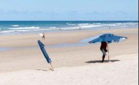 Treze praias estão impróprias para o banho neste final de semana; confira
