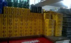 Sucom apreende mais de 1.300 bebidas na quinta-feira de Carnaval