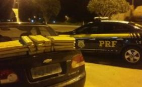 PRF apreende quase 60 kg de drogas na Chapada Diamantina