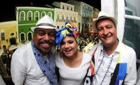 """Rui Costa curte no Samba no Pelô e fala sobre """"justíssima homenagem"""" no Carnaval"""