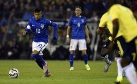 Sem inspiração, Brasil amarga derrota para a Colômbia por 1 a 0