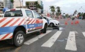 Transalvador notifica 886 condutores no sábado de Carnaval