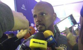 Fala, Jefferson! Goleiro brasileiro fala ao microfone da Metrópole após derrota
