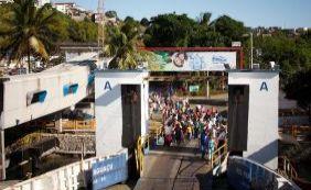 Fila de espera no ferryboat é de mais de duas horas em São Joaquim
