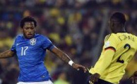"""Fred prega união após derrota para a Colômbia: """"Temos que buscar a vitória"""""""
