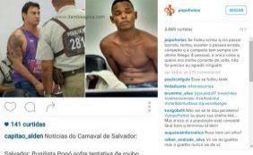 """""""Campeão tem sempre um último fôlego"""", diz Popó depois de pegar assaltante"""