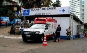 Quase 4 mil pessoas já foram atendidas nos módulos de saúde do Carnaval