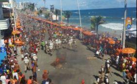 Ambulantes realizam protesto na Barra contra apreensão de mercadorias