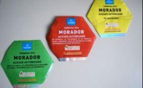 Mais de 300 adesivos exclusivos de moradores são apreendidos pela Transalvador