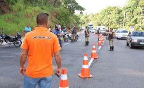 Detran realizou mais de três mil abordagens durante Carnaval de Salvador