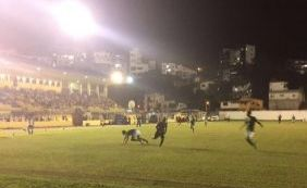 Vitória sofre e só empata com o Conquista no Campeonato Baiano