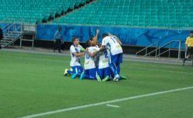 Galícia só coloca cinco jogadores no banco de reservas em jogo do Baianão