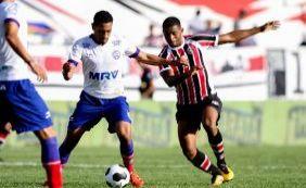 Ouça o gol da vitória do Bahia contra o Santa Cruz pela Copa do Nordeste