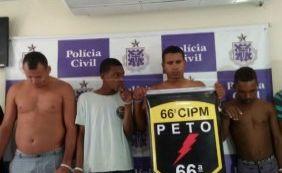 Polícia prende 13 pessoas e apreende 6kg de pedras preciosas na Bahia
