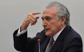 """Temer voltar a dizer que o PMDB """"precisa ter"""" a Presidência da República em 2018"""