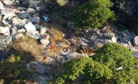 Buscas continuam por turista desaparecido na Chapada Diamantina