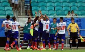 Invicto, Bahia enfrenta novamente a Juazeirense, desta vez pelo Nordestão