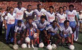 Em 1988, Bahia conquistava o Campeonato Brasileiro ao empatar com o Inter