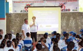 Dilma lança campanha contra Aedes para alunos da PM em Juazeiro