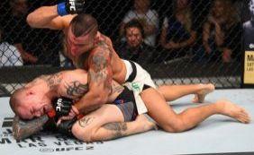 """""""Leleco"""" Guimarães perde para americano na estreia no UFC"""