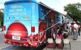 Hemóvel atende nos shoppings Salvador Norte e Barra até esta sexta-feira