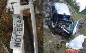 Mulher de 50 anos morre em acidente de carro em Nova Viçosa