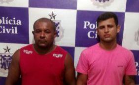 Dois receptadores de carga avaliada em R$ 60 mil são presos em Matina, na Bahia
