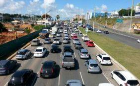 Trânsito: veja os pontos de maior retenção nesta quinta-feira