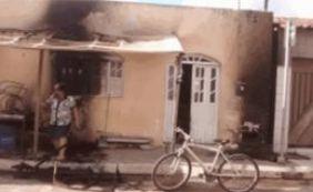 Após discussão, imóvel com quatro pessoas é incendiado na Bahia