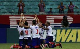 Hernane faz dois, Bahia vence Confiança e segue invicto no ano