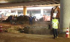 Trecho da Estação da Lapa é interditado por sete dias para obras finais