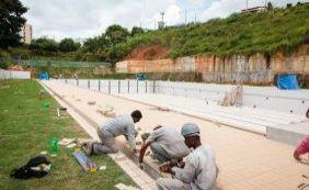"""""""A piscina olímpica está pronta e vai ser inaugurada em março"""", diz secretário"""