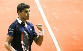 Atual 278 do mundo, Thiago Monteiro alcança as quartas do Brasil Open