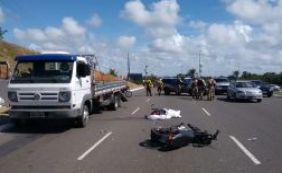 Motociclista de 69 anos morre após acidente em São Cristóvão; veja o trânsito