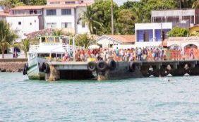 Sem filas! Travessia Salvador-Mar Grande tem embarque tranquilo neste domingo