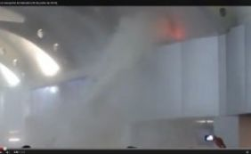 Princípio de incêndio atingiu Aeroporto de Salvador; assista